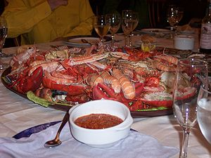 """A authentic """"Mariscada"""" from Galicia"""