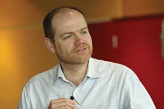 Mark Thompson (media executive) - Thompson in April 2005