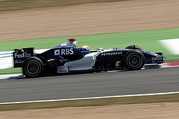 Webber nel Gran Premio di Francia 2006