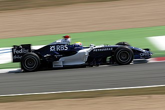 Circuit de Nevers Magny-Cours - The circuit features several high-speed chicanes with prominent kerbs, such as the Imola chicane. (Mark Webber pictured driving for WilliamsF1.)