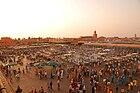 Maroc Marrakech Jemaa-el-Fna Luc Viatour.JPG