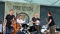 Masada String Trio in concert (14634760797).jpg