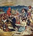 Massaker auf Chios (Studie), Eugène Ferdinand Victor Delacroix.jpg
