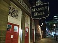 Massey Hall front doors night.jpg