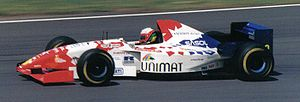 Footwork Arrows - Massimiliano Papis driving for Footwork at the 1995 British Grand Prix.