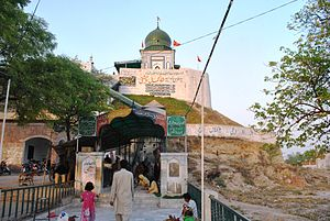 Kasur - The hilltop shrine of Shah Kamal Chisti is a popular site in Kasur.