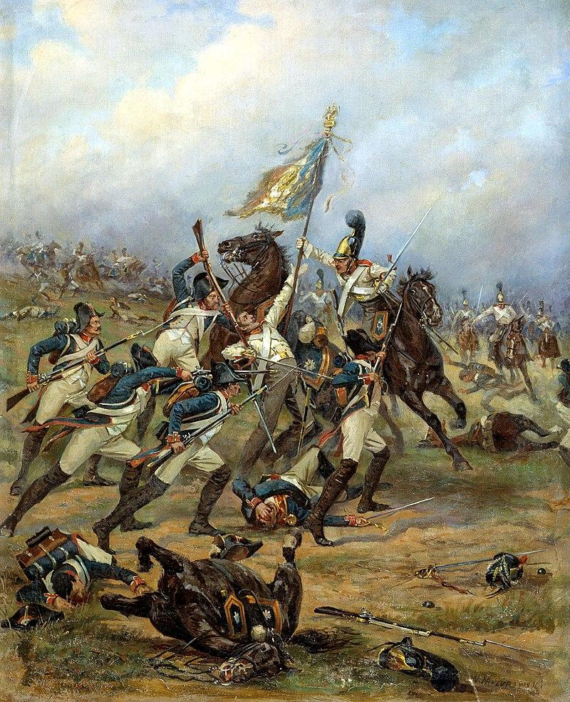 Mazurovsky - Fight for the banner (1805), 1910-12.jpg
