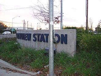Meadowview, Sacramento, California - Meadowview Light Rail Station
