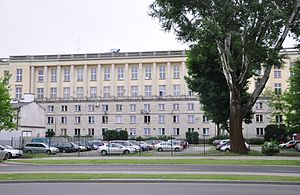 Ministry of Interior (Poland) - The seat of the ministry on Stefan Batory Street, Warsaw.