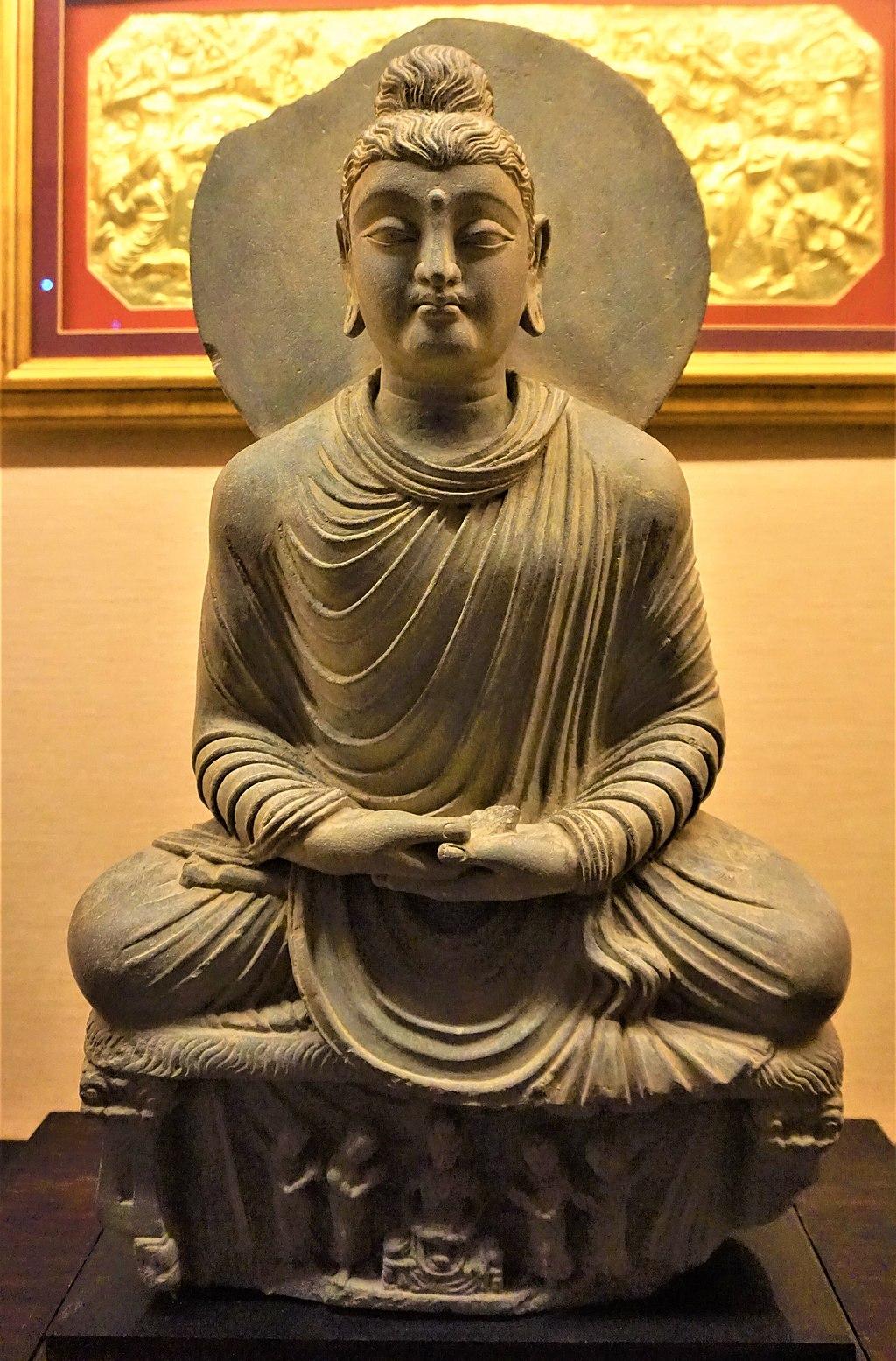 Meditating Buddha Shakyamuni