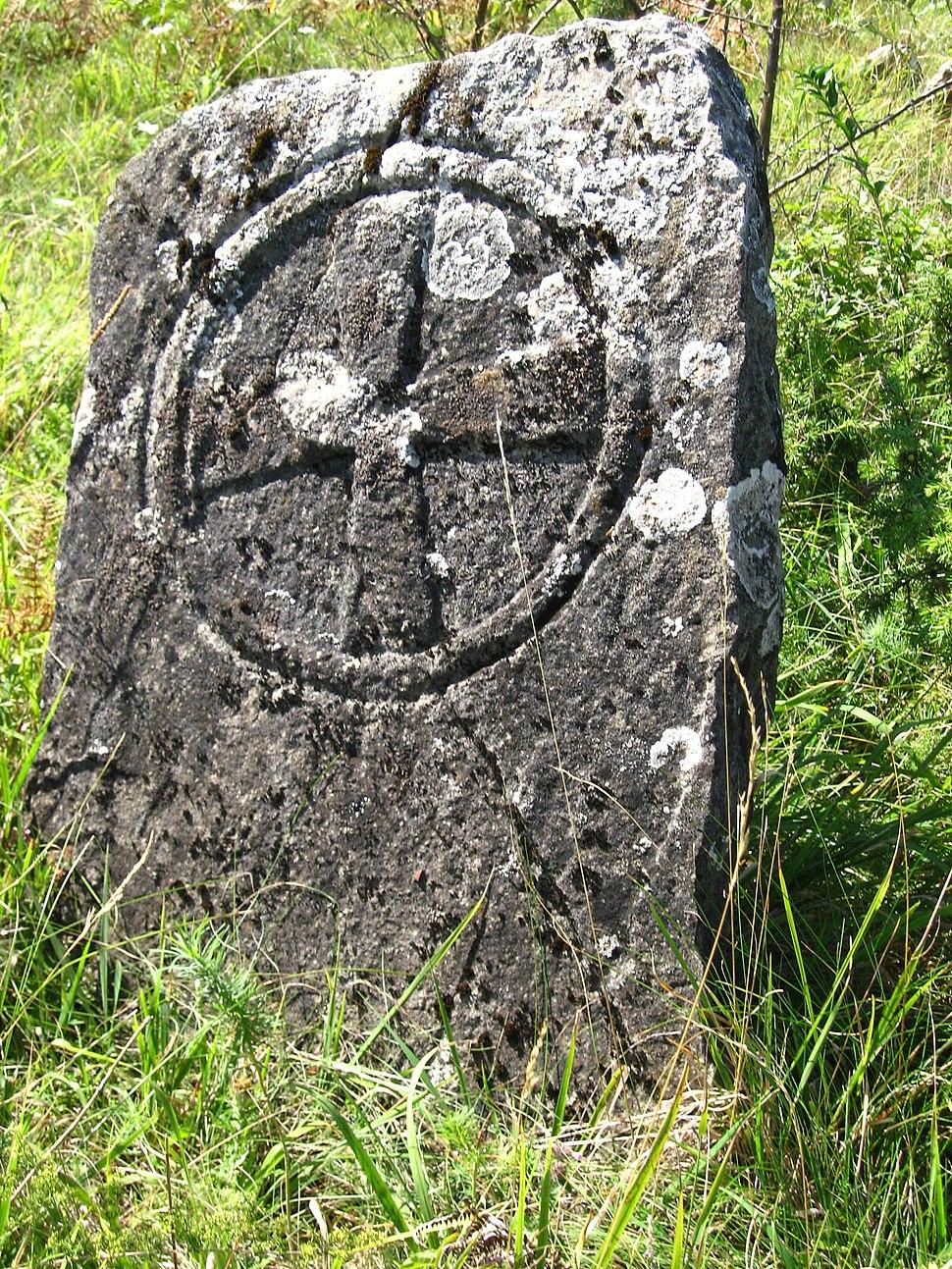Medvednik - zapadna Srbija - selo Rebelj - zaseok Vreoci - Staro groblje iz XIX veka 1