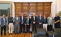 Membres de la comissió commemorativa de la cantada d'havaneres de Calella de Palafrugell.jpg