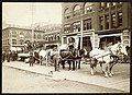 Men with horse team on First Avenue, Seattle, circa 1890 (MOHAI 9680).jpg