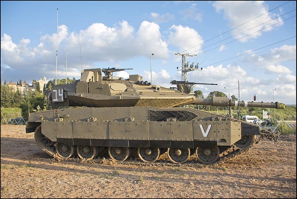 Merkeva Mk 4M - Israeli Tanks 2019-04-21 IZE-42