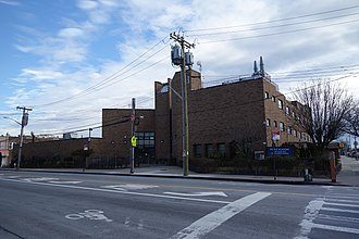 South Jamaica, Queens - Eagle Academy for Young Men III at Merrick and Linden Boulevards.