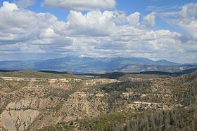 Mesa Verde National Park Park Point Overlook La Plata Mountains 2006 09 11.jpg