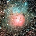 "Messier 20 - ""The Trifid Nebula"" (29374802782).jpg"