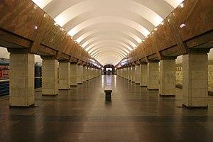 Станция метро Пролетарская.
