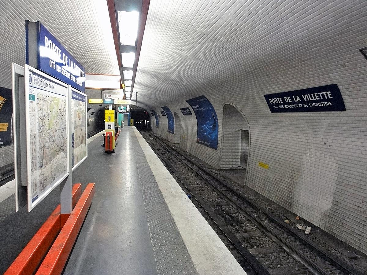 ポルト ド ラ ヴィレット駅