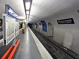 Porte de la villette metropolitana di parigi wikipedia - Metro porte de la villette ...