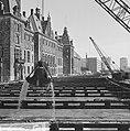 Metro in Rotterdam, de Coolsingel, in het midden het metrokanaal, Bestanddeelnr 915-2519.jpg