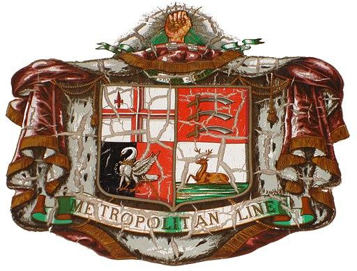 Metropolitan Line Heraldry white bg