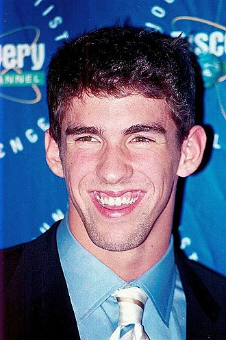 Michael Phelps - Phelps in 2002