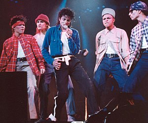 "The Way You Make Me Feel - Jackson performing ""The Way You Make Me Feel"" in his signature outfit for the song in 1988 during the Bad World Tour. During performances of the song Jackson would do a dance routine that included four dancers in the background."