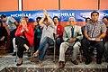 Michelle Bachelet participa en un encuentro con dirigentes sociales y vecinales de Puente Alto. (8654744423).jpg