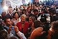 Michelle Bachelet participa en un encuentro con dirigentes sociales y vecinales de Puente Alto. (8657370309).jpg
