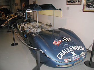 Mickey Thompson - Thompson's record-breaking Challenger I at the NHRA Museum
