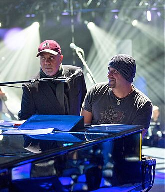 Billy Joel - Joel with Mike DelGuidice in 2016