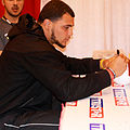 Mike Evans signs autographs in summer 2014.jpg
