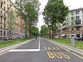 Milano viale Abruzzi corsie filobus.JPG