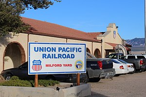 Milford, Utah - Milford train station, October 2017