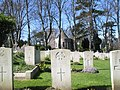 Military graves within Christ Church, Widley - geograph.org.uk - 732033.jpg