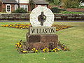 Millstone, Willaston village green.JPG