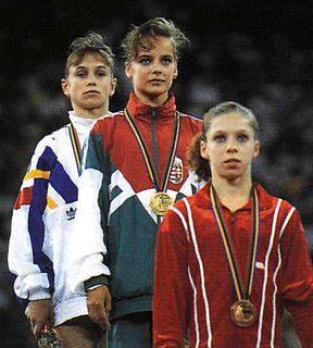 Lavinia Miloșovici Romanian artistic gymnast