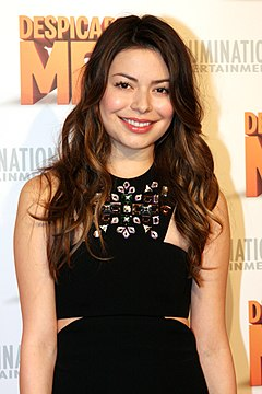 Miranda Cosgrove Miranda Cosgrove at Despicable Me 2 red carpet movie premiere at Event Cinemas, Bondi Junction, Sydney, Australia.jpg