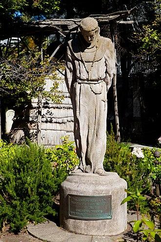 Arthur Putnam - Statue of Junipero Serra at Mission Dolores