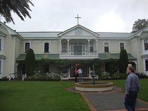 Taradale, New Zealand - Wineries such as the Mission Estate Winery are common in the area