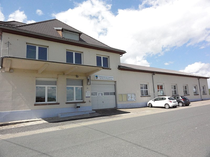 Mittelbronn (Moselle) maison communauté de communes du pays de Phalsbourg