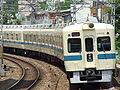 Model 5000-Fifth of Odakyu Electric Railway.JPG