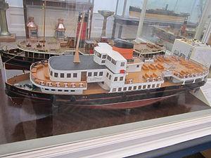 Model of the Mersey Ferry 'Overchurch', Williamson Art Gallery.jpg