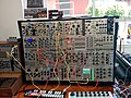 Modular Synthesizer - Enticingly technical synthesizer 1, Control Voltage, Mississippi Street, Portland, Oregon, USA (2014-07-12 by Cory Doctorow).jpg