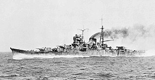 Japanese cruiser <i>Mogami</i> (1934) ship