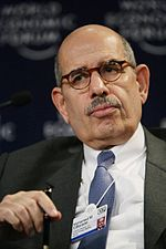 Mohamed ElBaradei, Davos 2.jpg