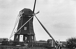 molen in restauratie