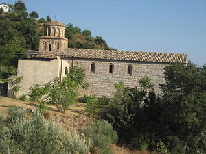 San Giovanni Theristis - View of the restored side of the monastery.