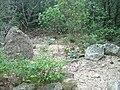 Mont Bouquet 30- D607 western road- dolmen reported B.jpg